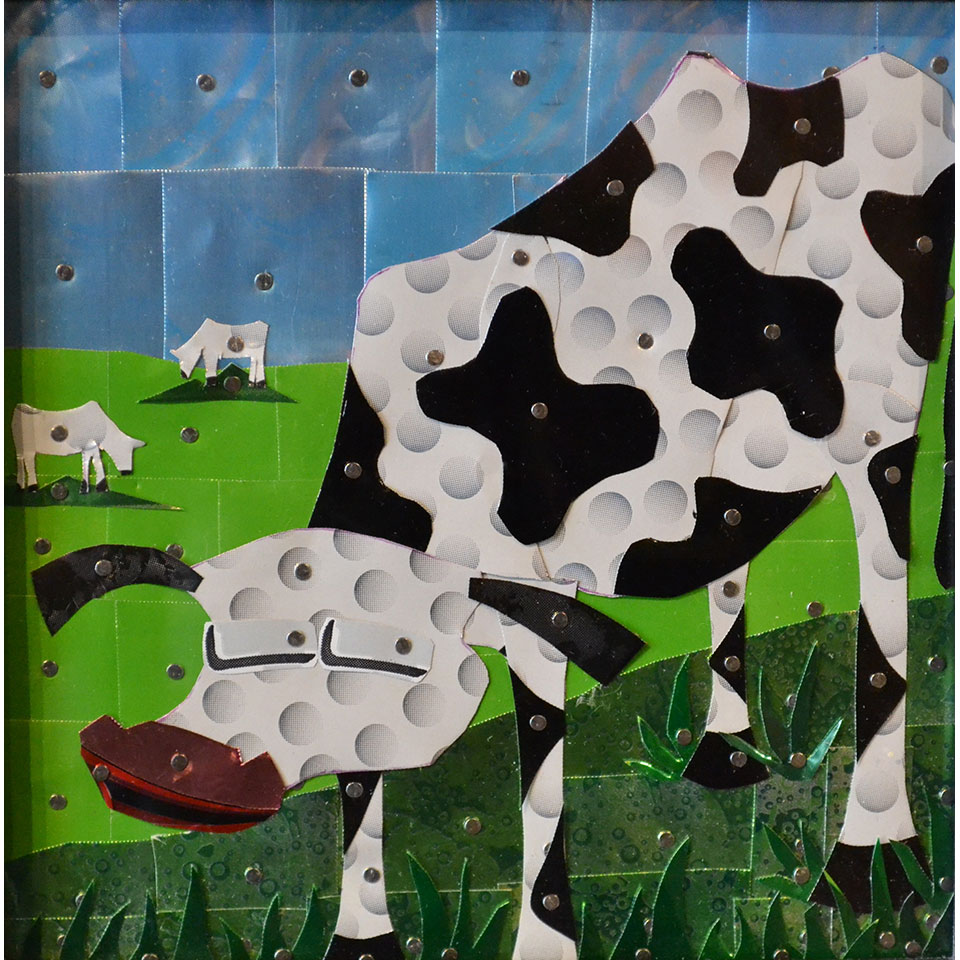Canned Cow #10 by Larry Schmehl