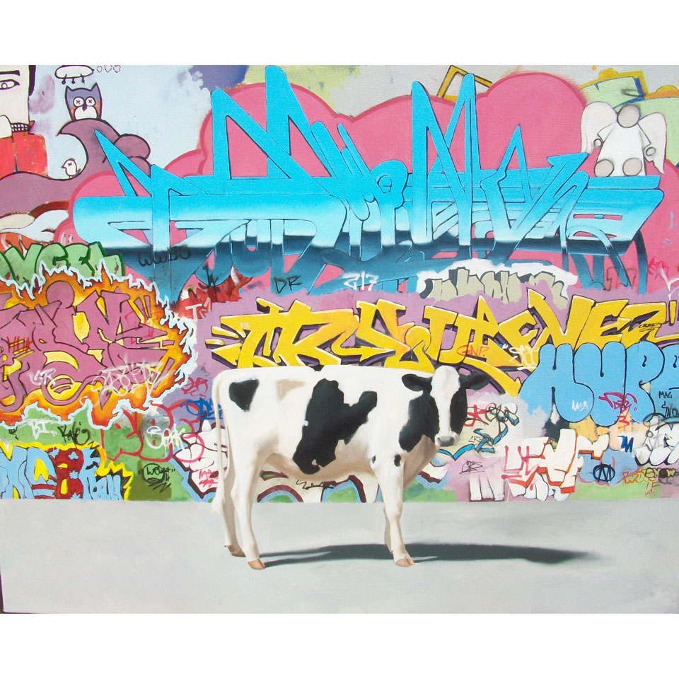 Street Cow by Charley Snow