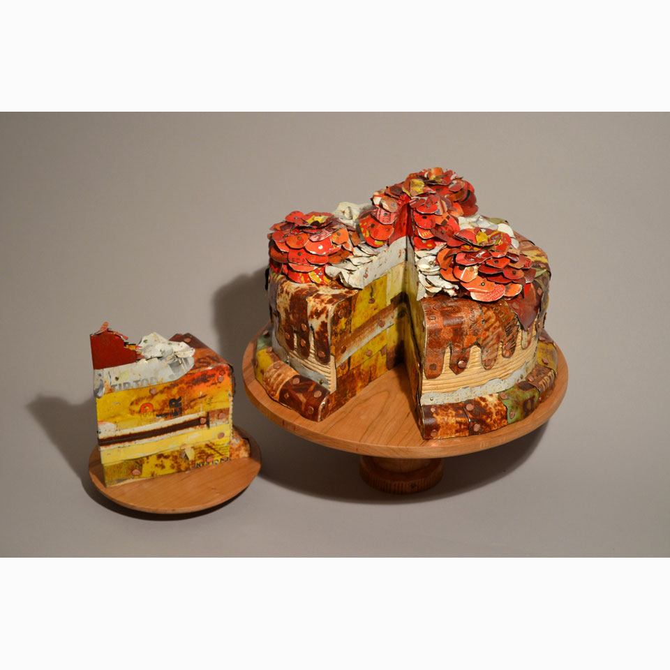Red Rose Cake by Silvia Davis
