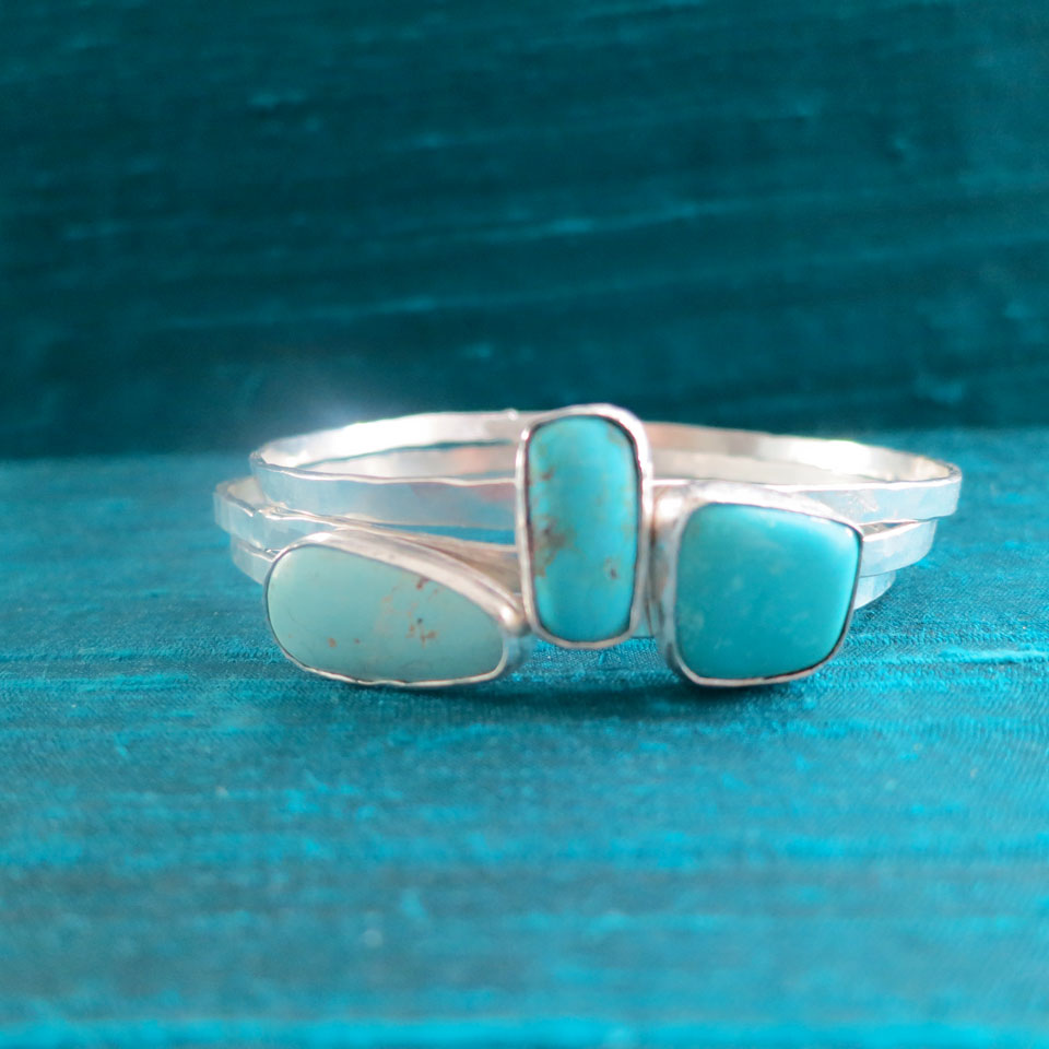 Pieces Of Sky Bracelet by Kathleen Carricaburu