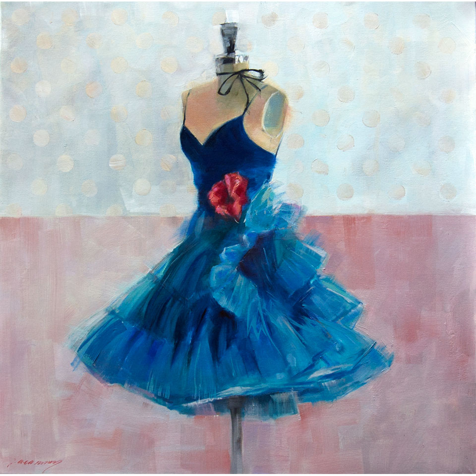 Teal Dance by Patricia Canney