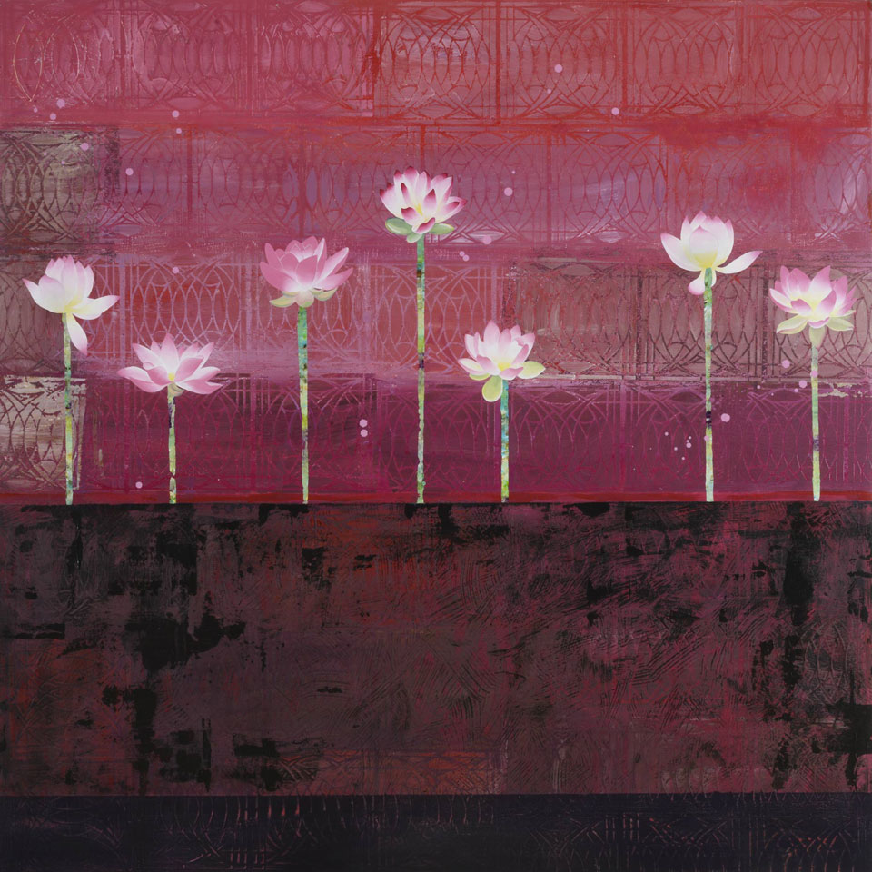 May We Exist In Muddy Water With Beauty Like The Lotus by Diana Stetson