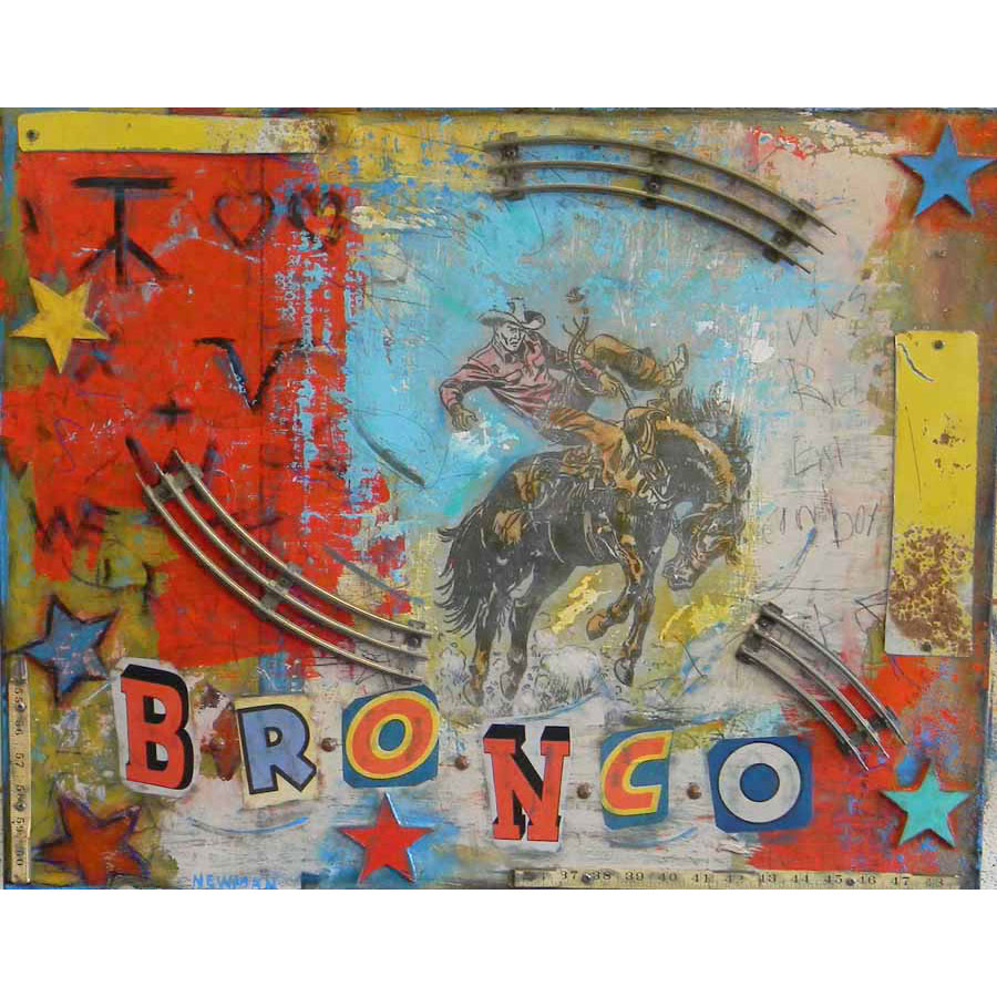 Bronco by Dave Newman