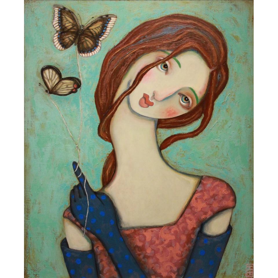He Gave Me Butterflies by Heather Barron