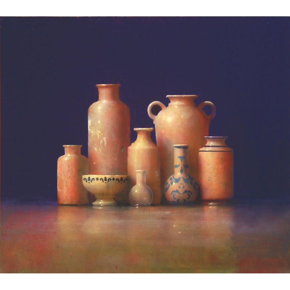 Huddle III by David Dornan