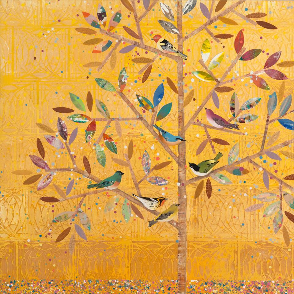 Yellow Tree III by Diana Stetson