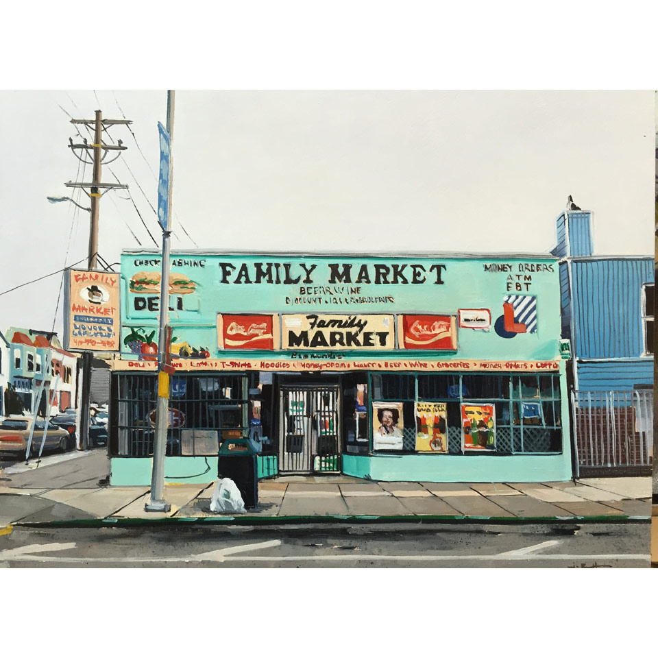 Family Market by James Randle
