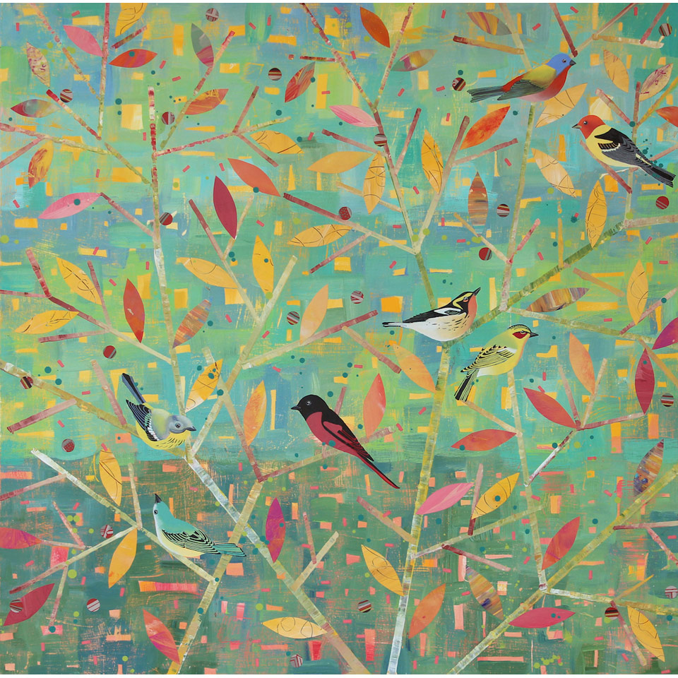 Birds Passing Through by Diana Stetson