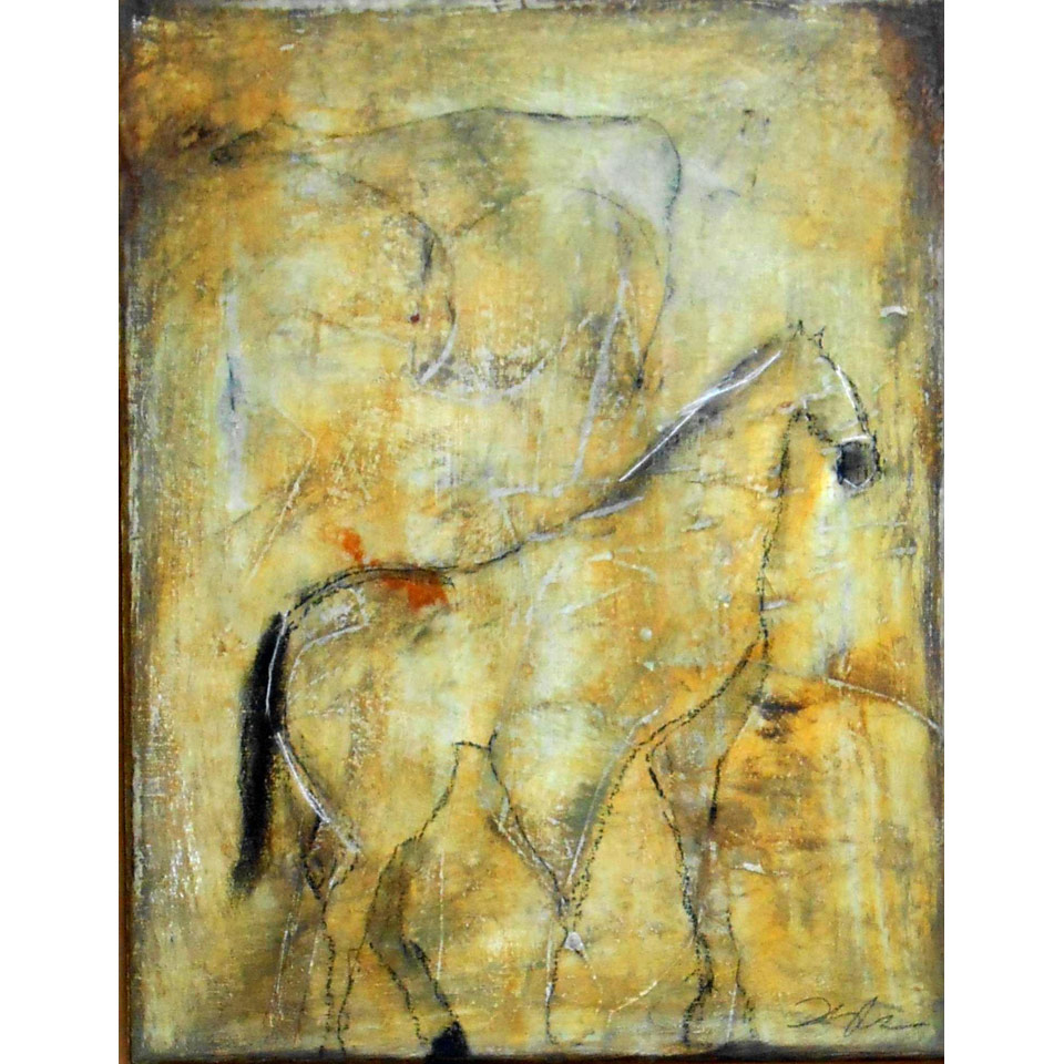 Cave Series Horse 7 by Kathy Taylor