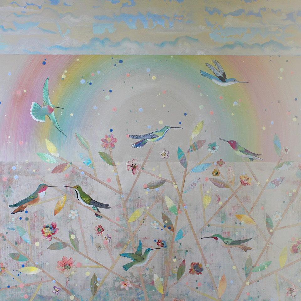 A Charm Of Hummingbirds by Diana Stetson
