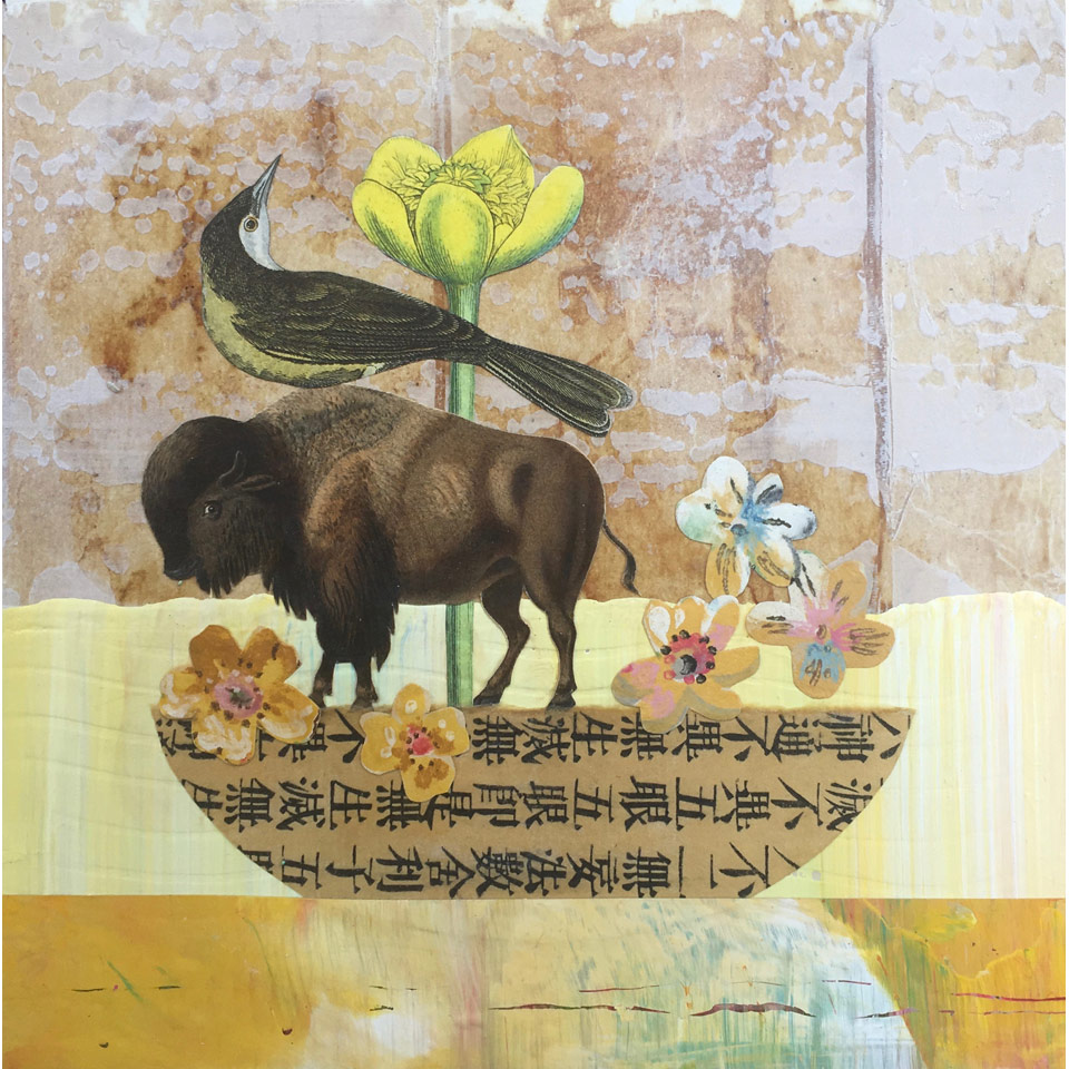 Ark Of Yellow Flowers by Diana Stetson