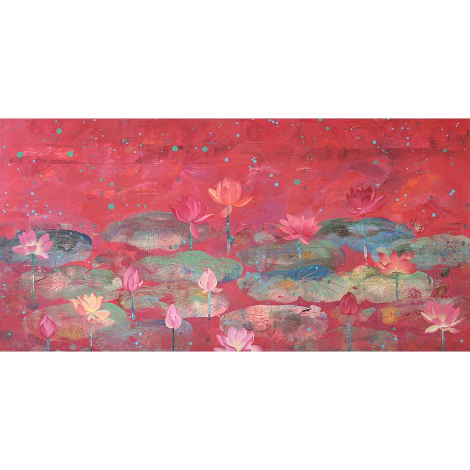 Lotus XXI by Diana Stetson