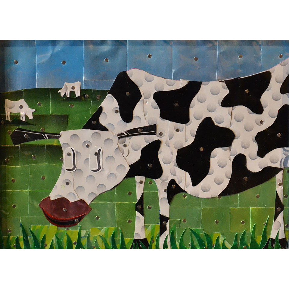 Canned Cow #8 by Larry Schmehl