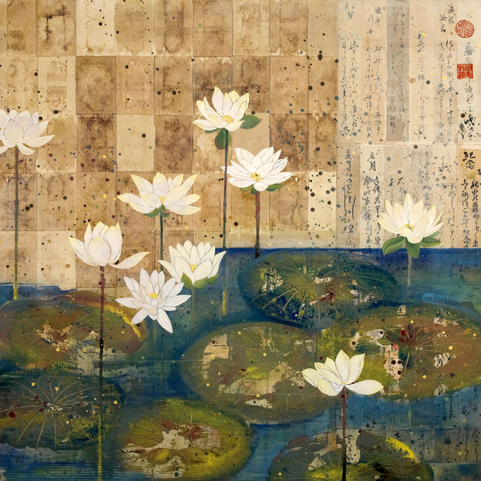 White Lotus by Diana Stetson