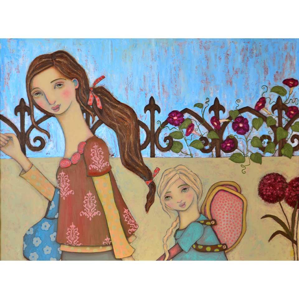Little Angel by Heather Barron