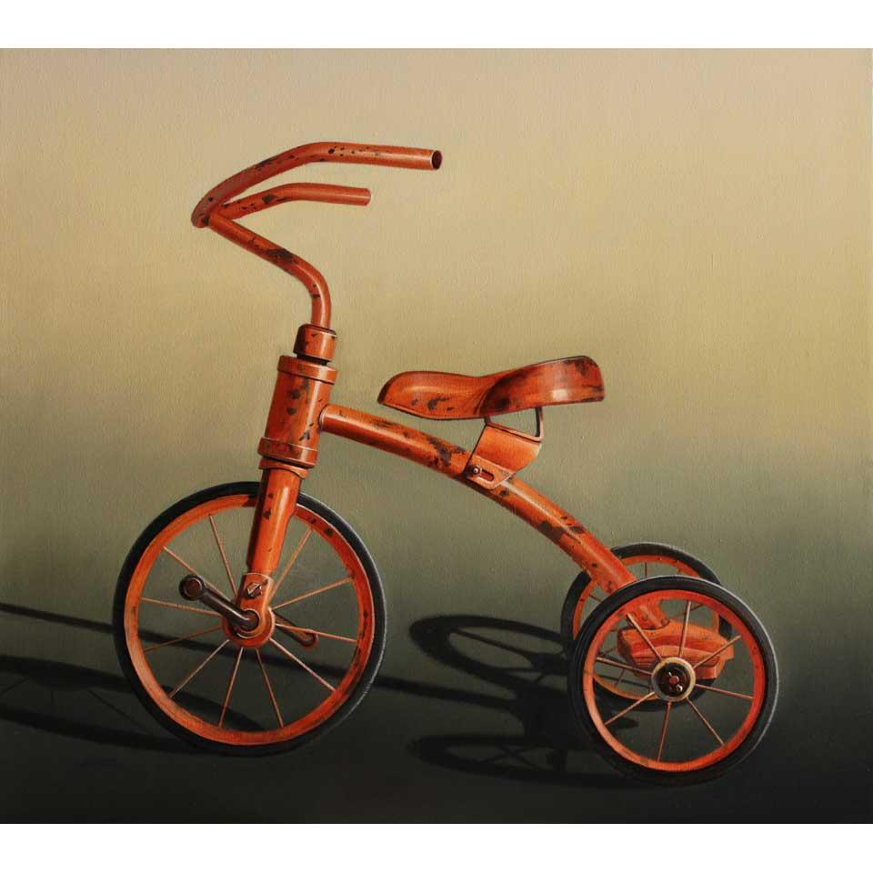 Junior Vehicle Orange by Wendy Chidester