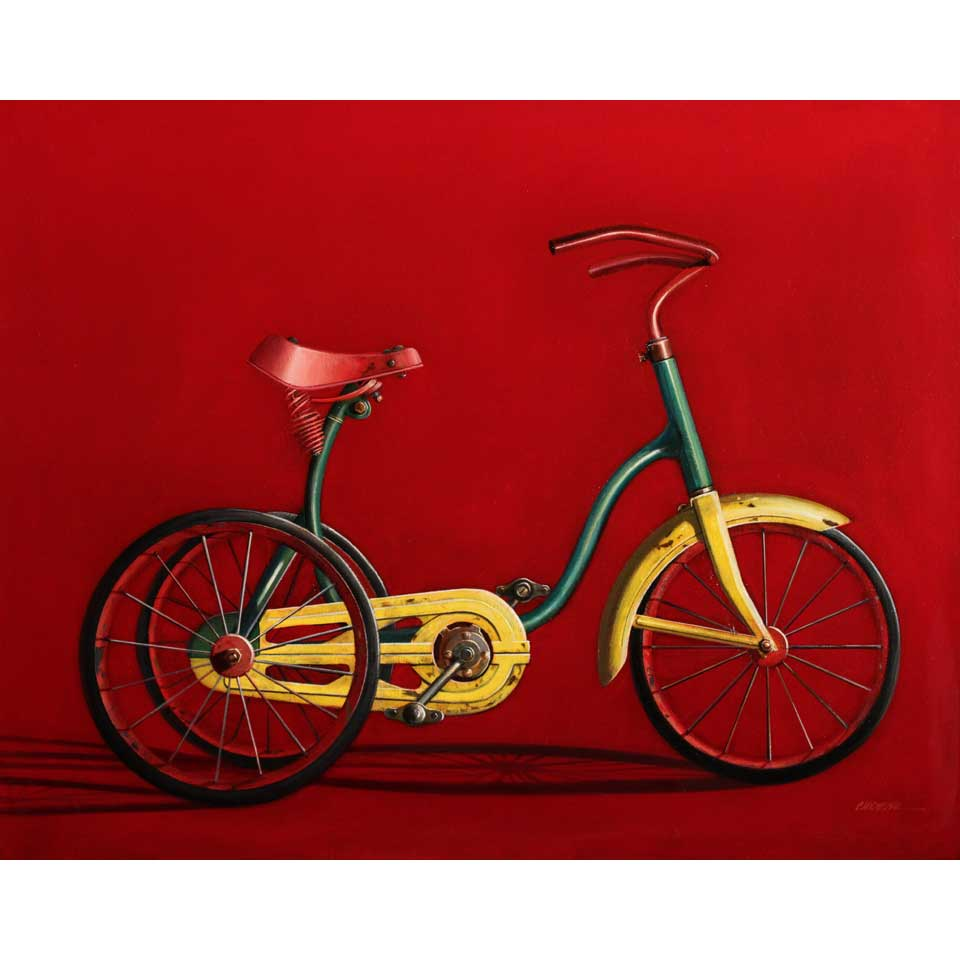 Yellow Fender Side View by Wendy Chidester