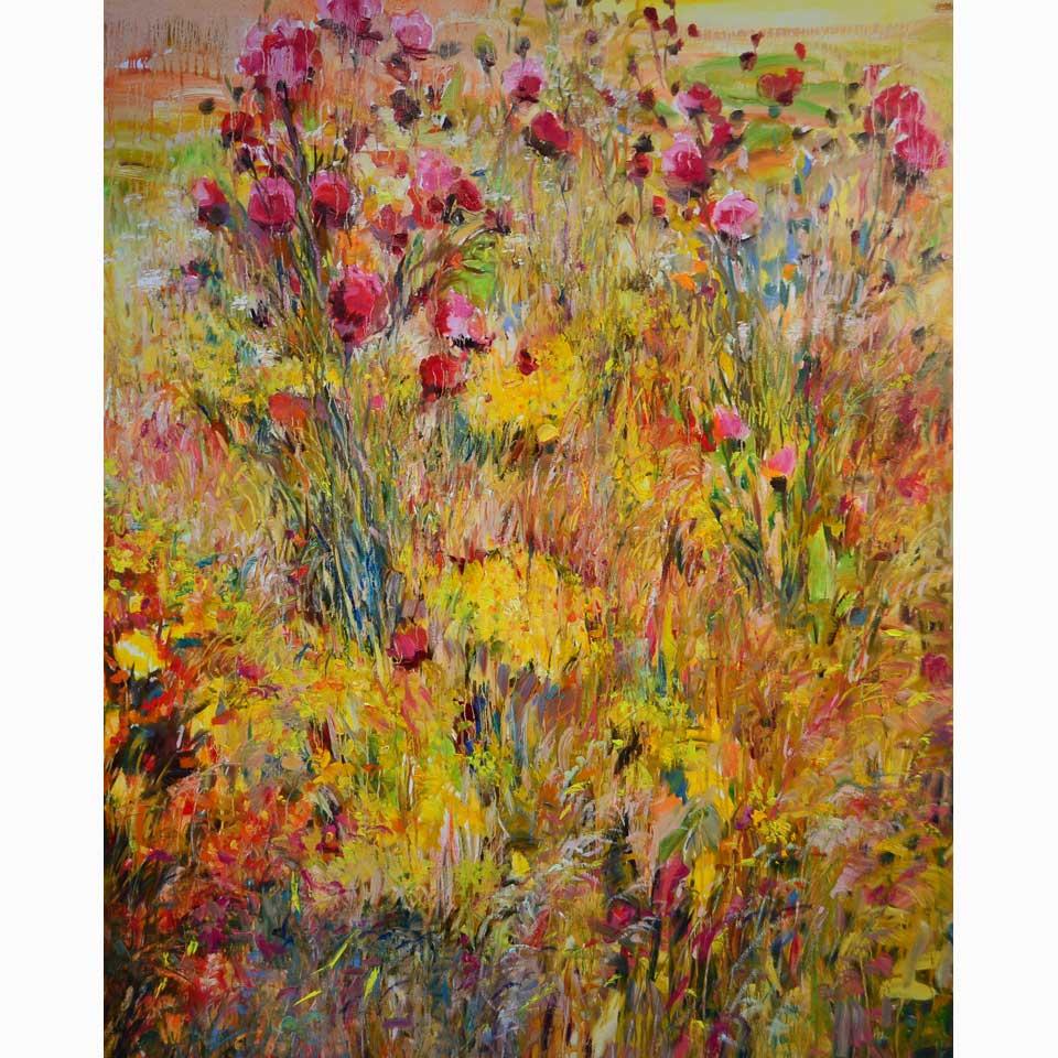 Fullness Of Color by Maria Zielinska