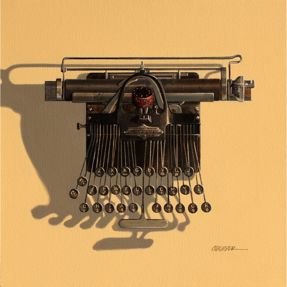 Blikensderfer by Wendy Chidester