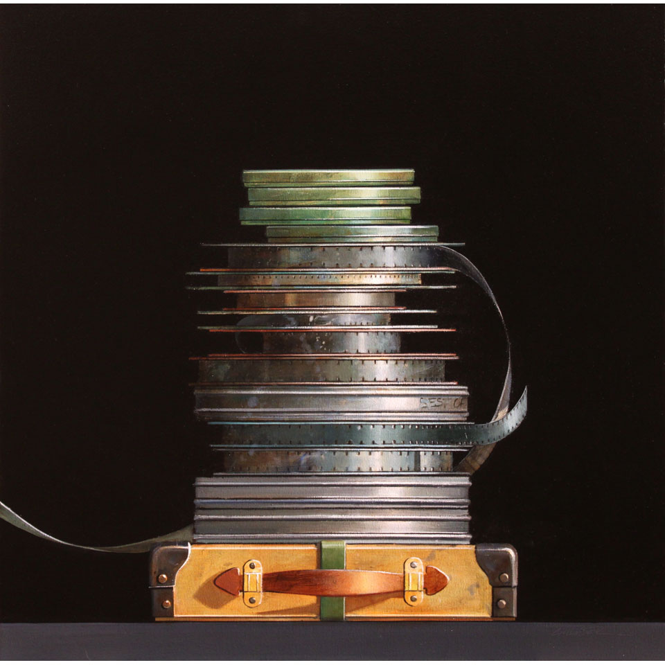 Film Stack by Wendy Chidester