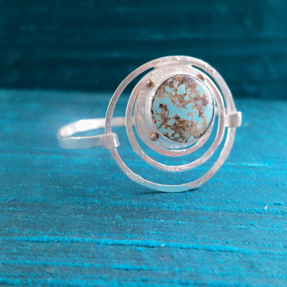 Continuous Circle Bracelet by Kathleen Carricaburu