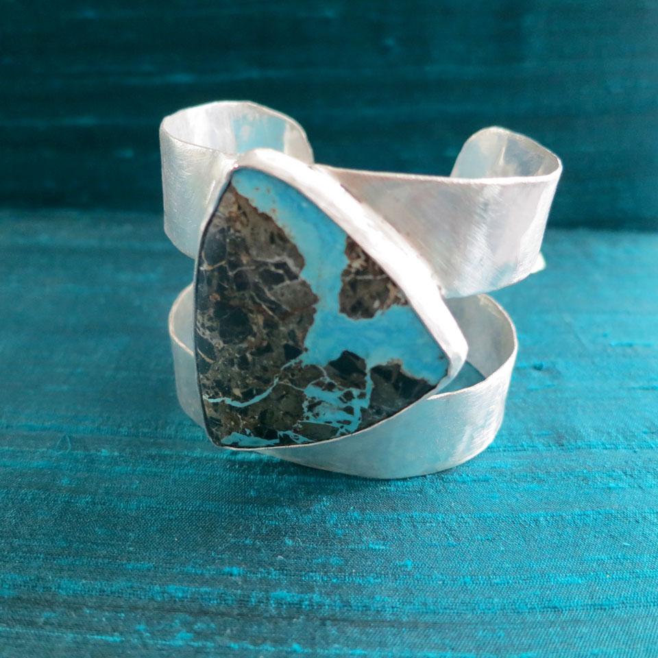 Heart Of The Earth Bracelet by Kathleen Carricaburu