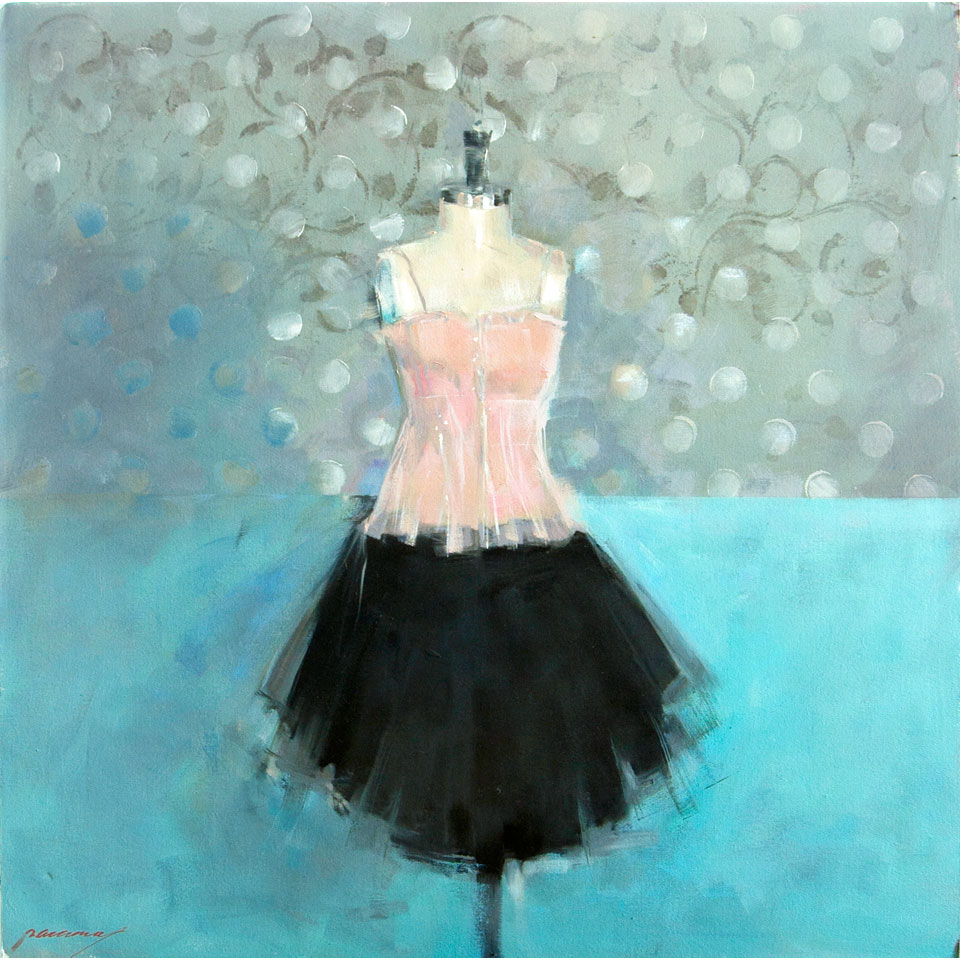 Tulle And Dots by Patricia Canney