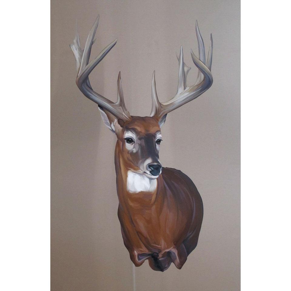Trophy Buck by Mai Wyn Schantz