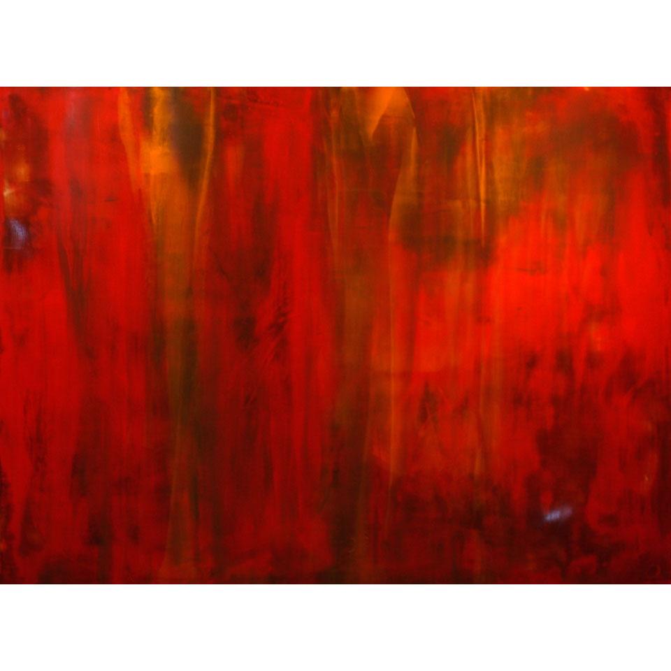 Red Cascade by Tom Carlson