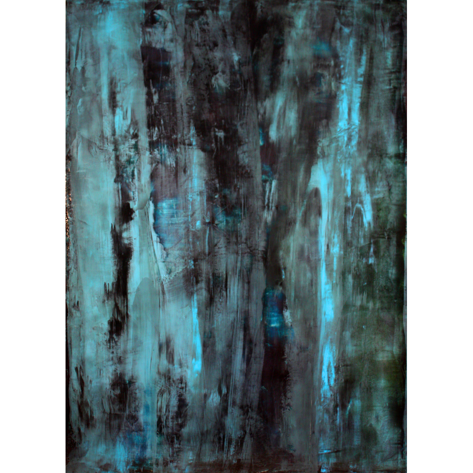 Midnight Cascade by Tom Carlson