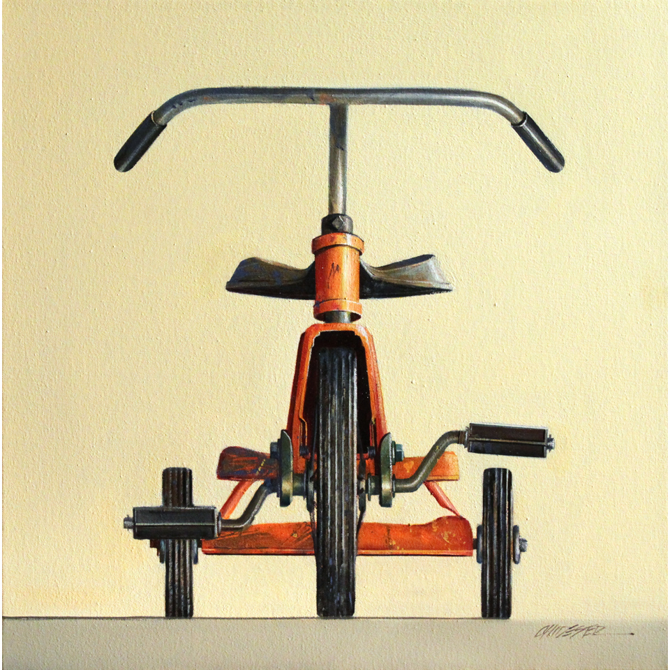 Orange Trike by Wendy Chidester