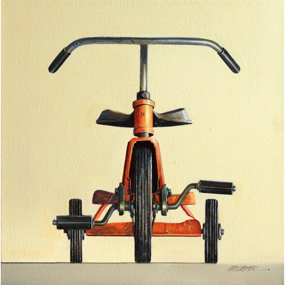 Orange Trike by Wendy Chidester
