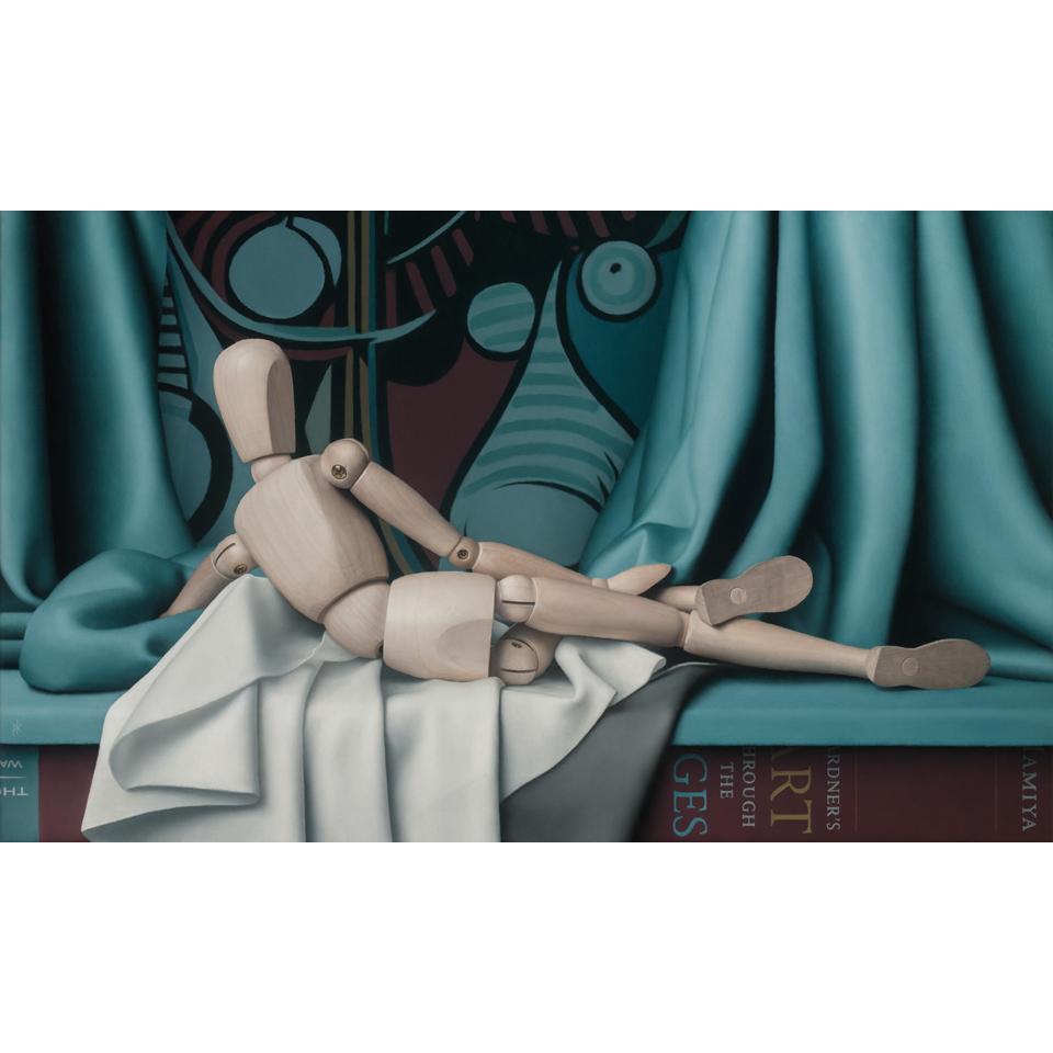 Reclining Nude by Patrick Kramer