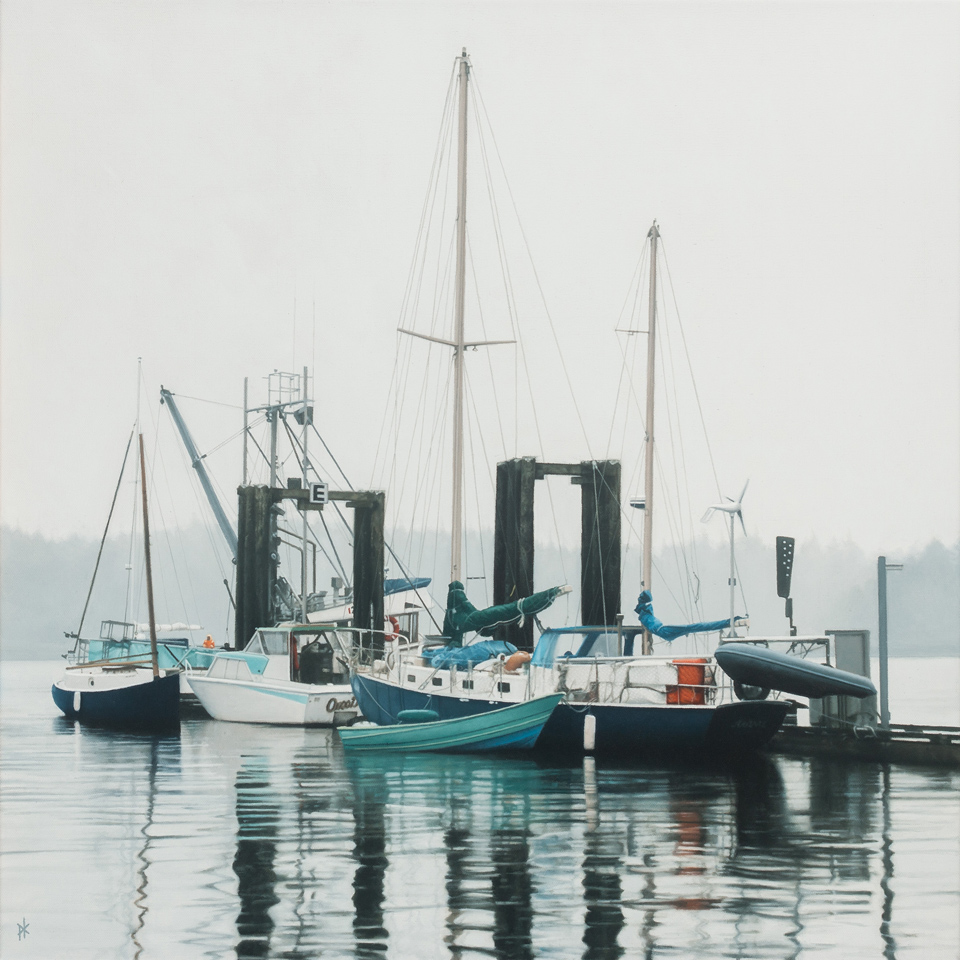 Tofino Harbor by Patrick Kramer