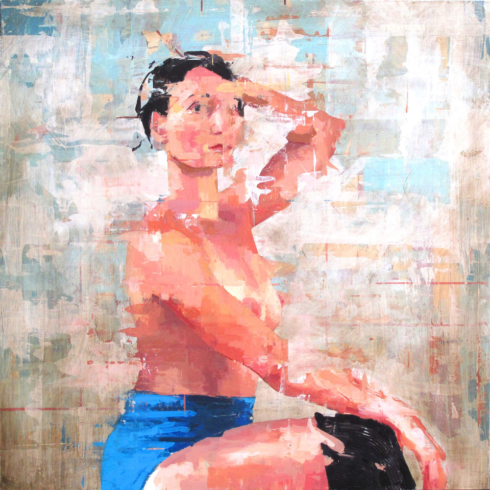 Woman In Blue by Trent Call