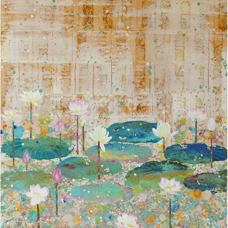 Lotus XX by Diana Stetson