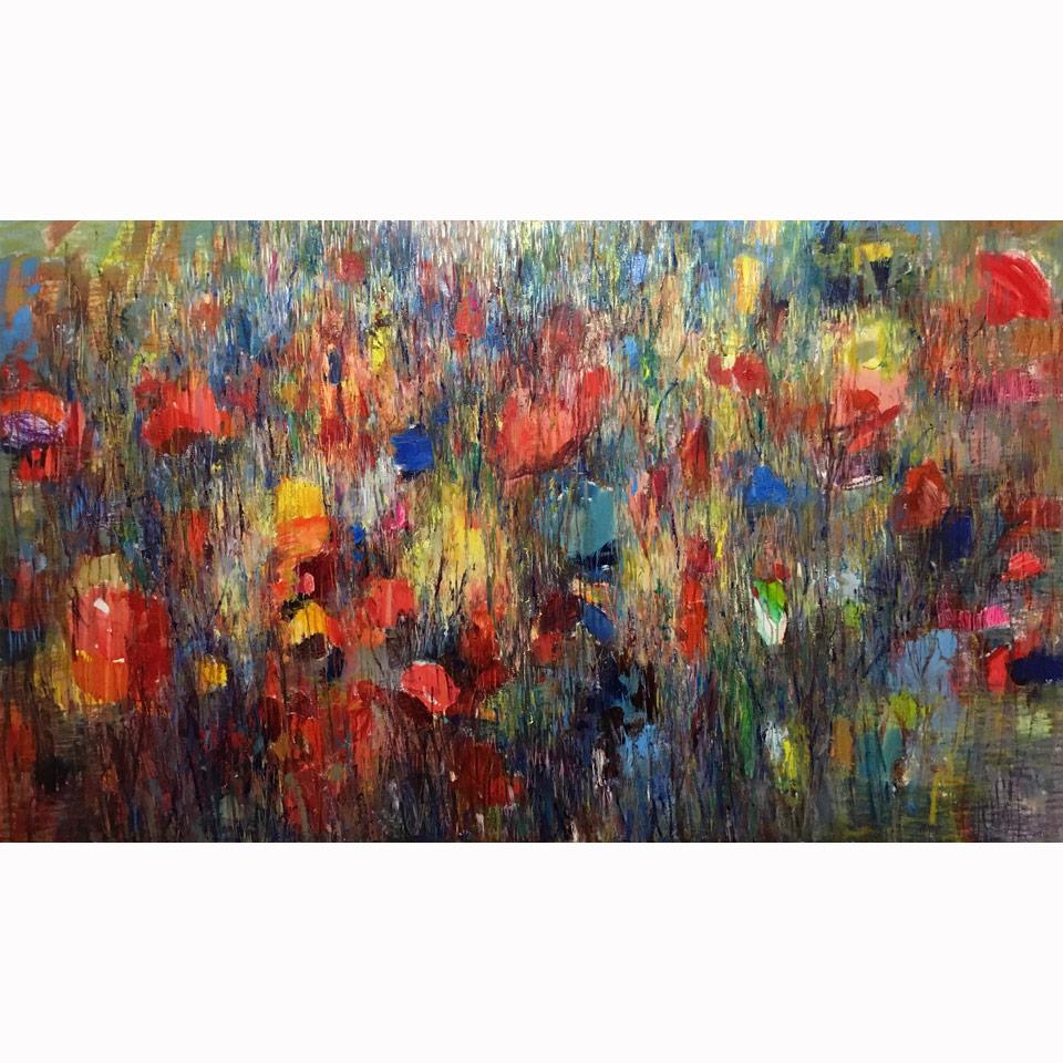 Colors Of Longing by Maria Zielinska
