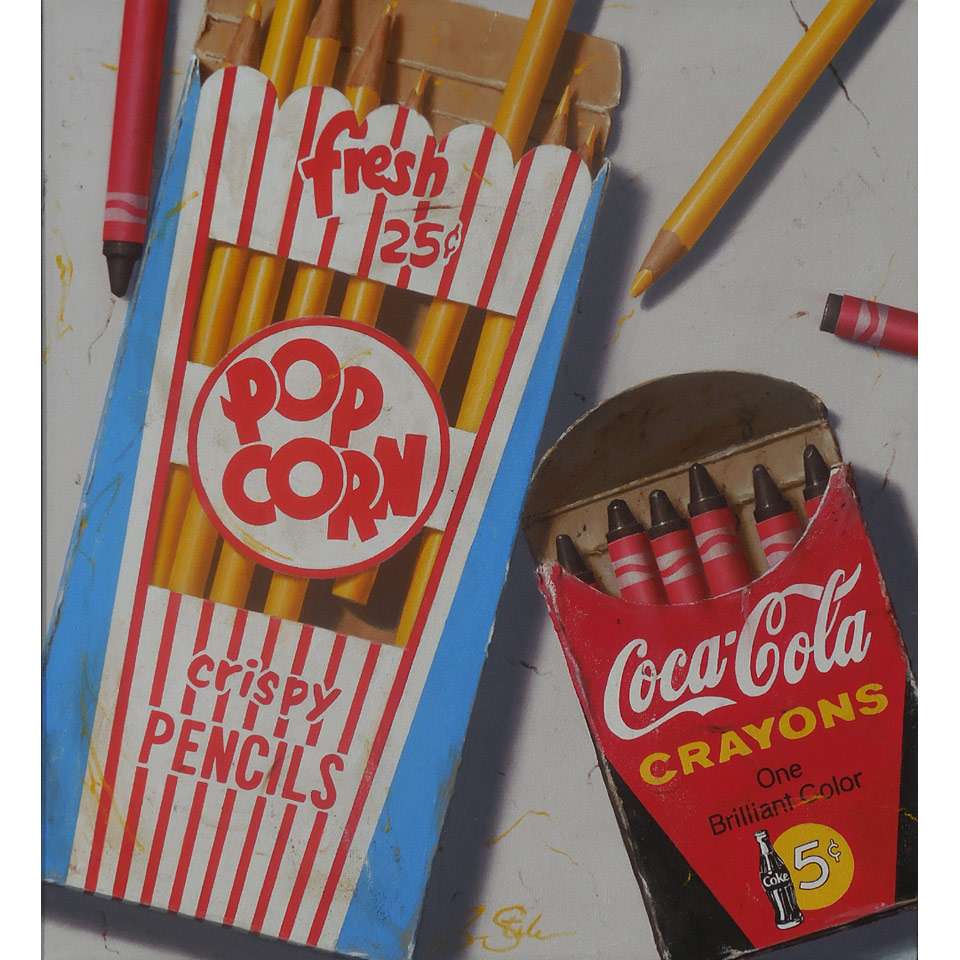 Popcorn And Coca Cola by Ben Steele