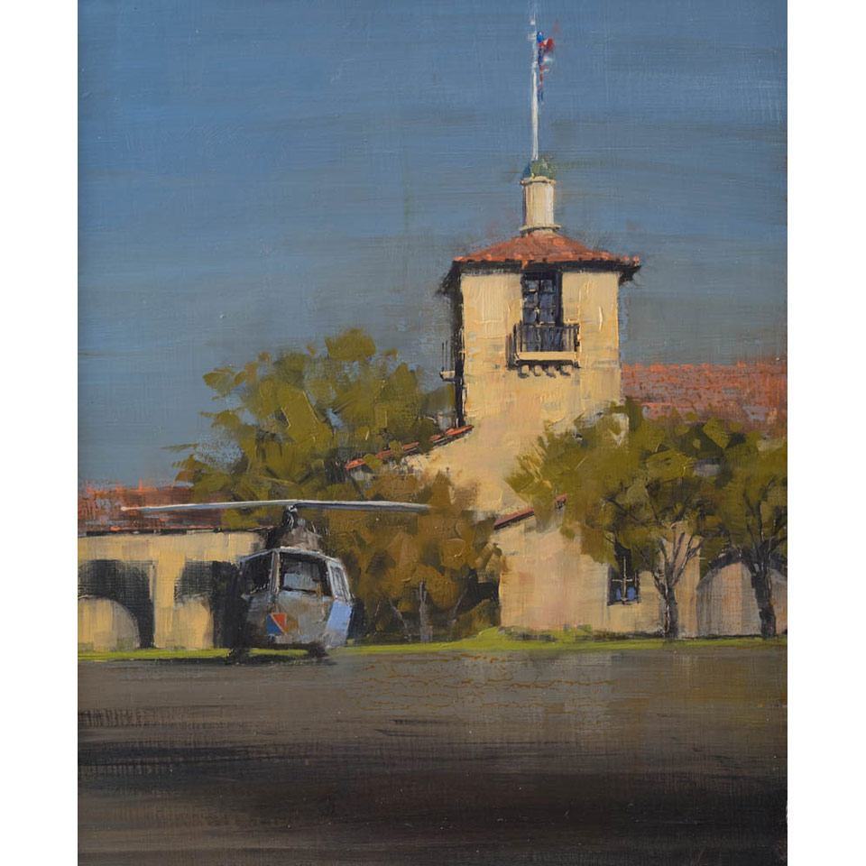 Santa Barbara Armory by Dave Cassil