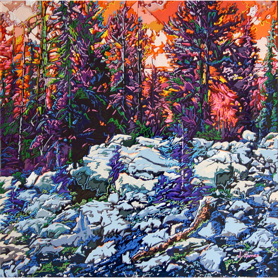 Summer In The Rockies by Janell James