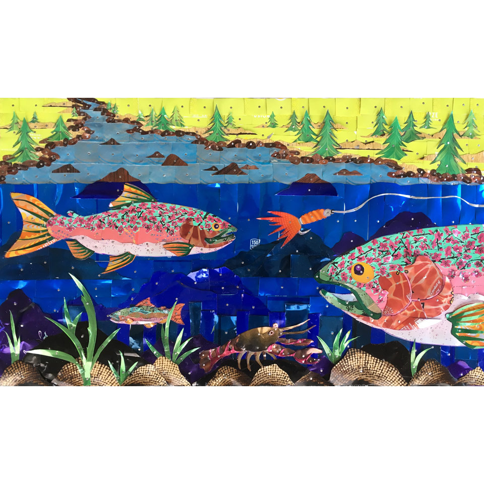 Canned Trout 2 by Larry Schmehl