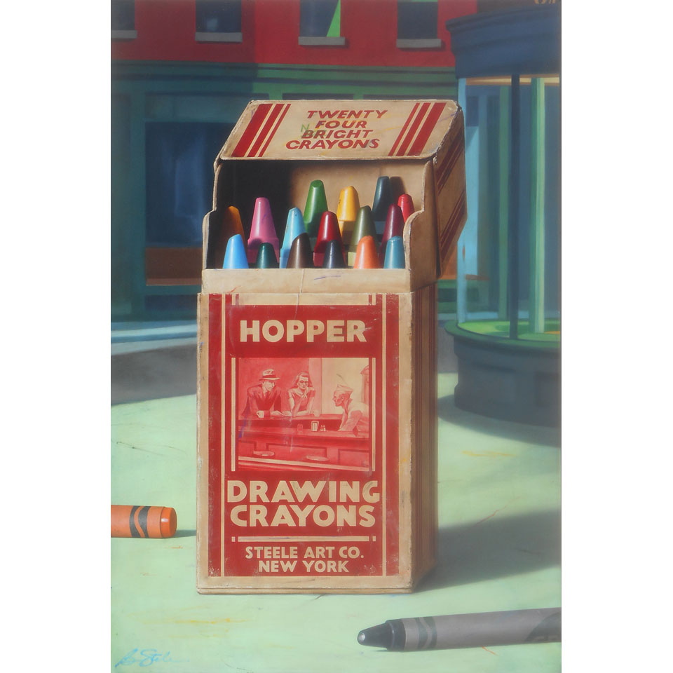 Night Crayons by Ben Steele