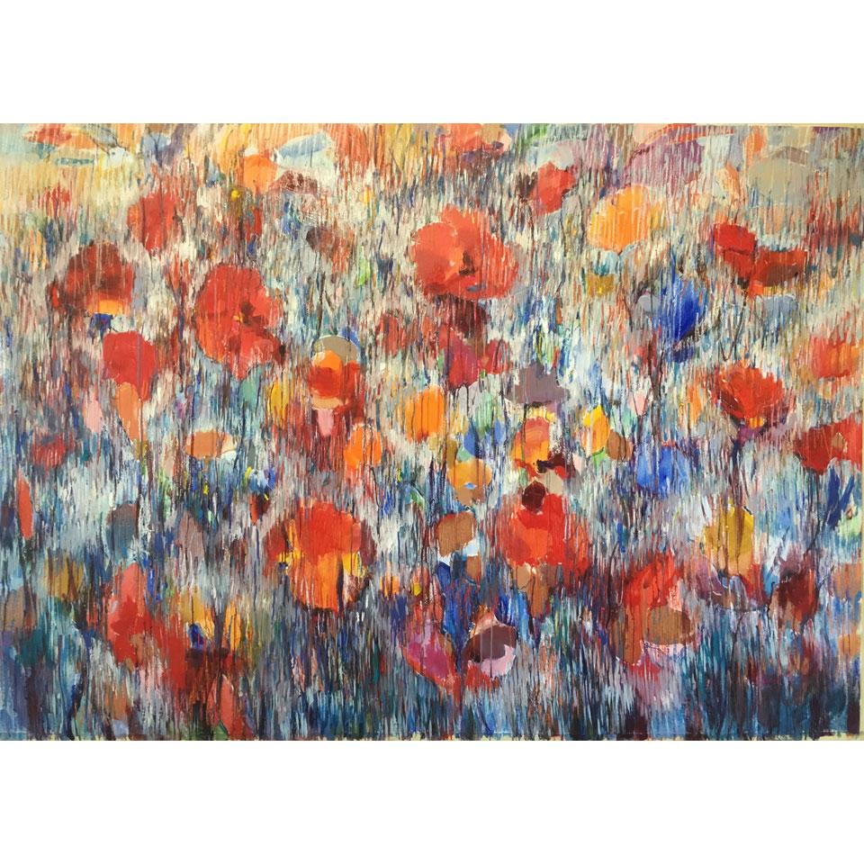 Hibiscus by Maria Zielinska