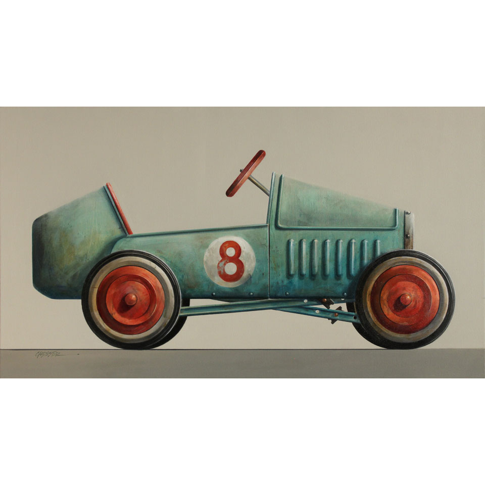 Pedal Car No. 8 by Wendy Chidester