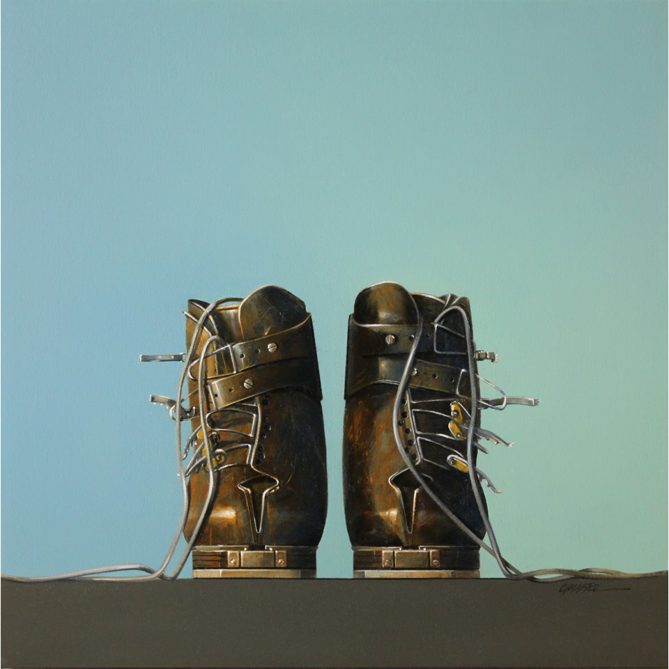 Minami Sports Ski Boots by Wendy Chidester