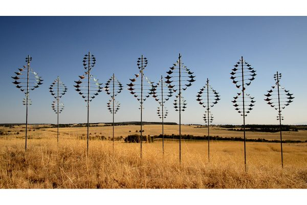 FREE SHIPPING ON LYMAN WHITAKER WIND SCULPTURE