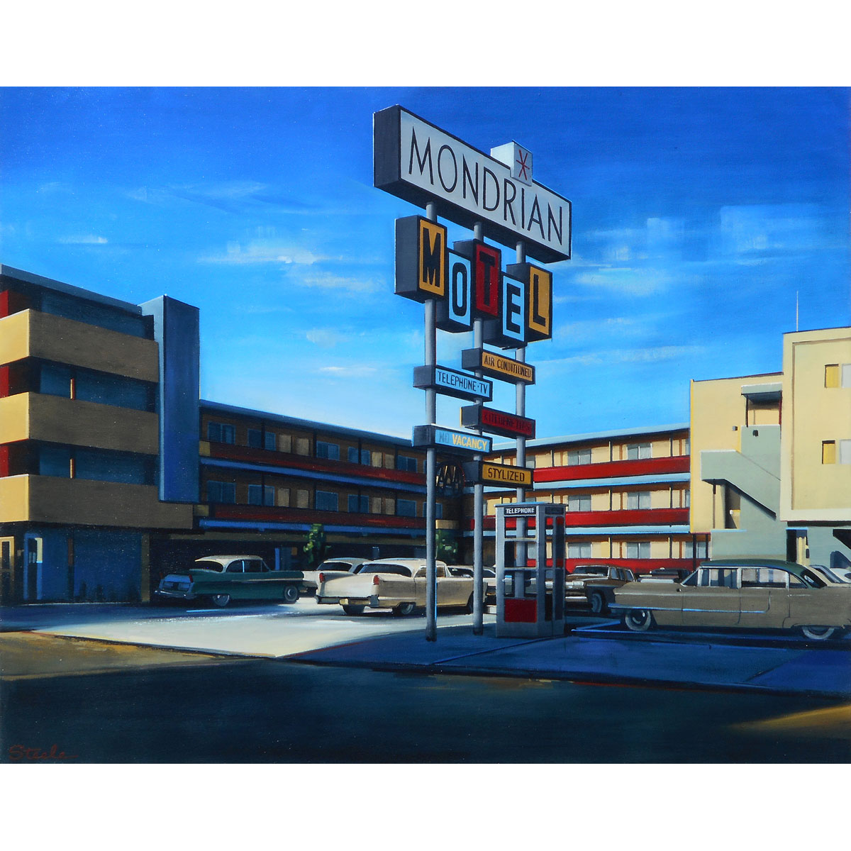 Mid Century Motel by Ben Steele