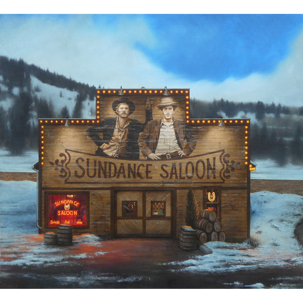 Sundance Saloon by Ben Steele