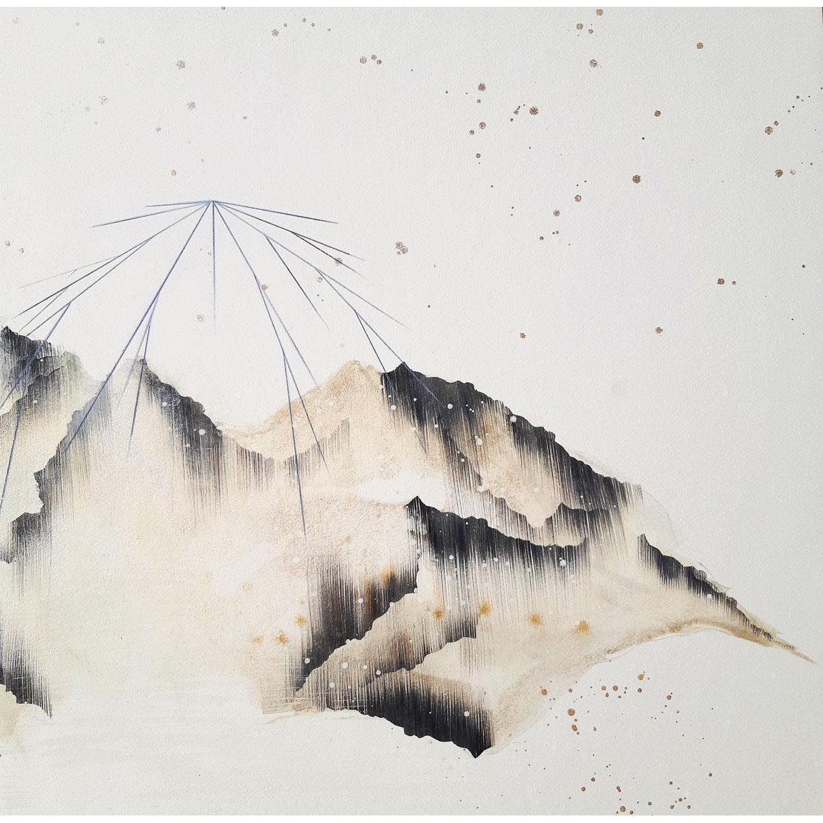 Mt Sneffles by Fawn Atencio