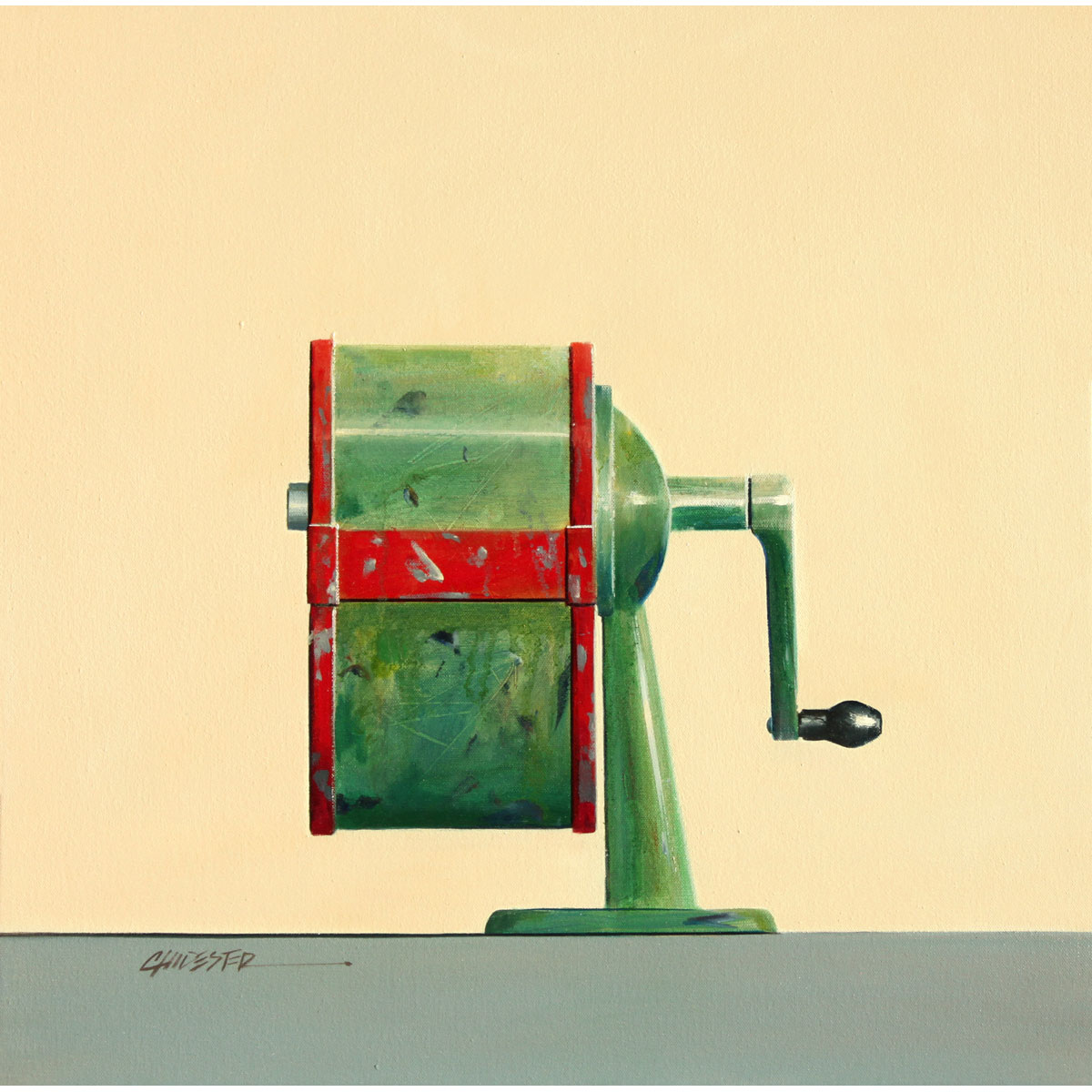 Pencil Sharpener by Wendy Chidester